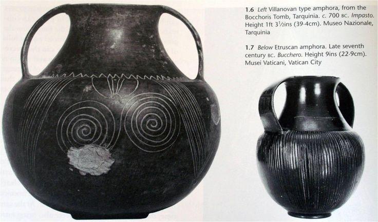 bucchero nero - etruszk