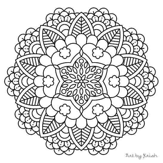 Mandela Coloring Animal Mandala Coloring Pages Online Mandaly