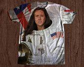 Astronaut Nicolas Cage Shirt unisex Youth & Adult size tshirts USA Handmade *Fast Shipping*