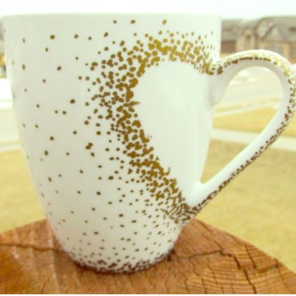 Dotted Heart Mug Each mug is unique because it is handcrafted with love and dedication. I spend a lot of my time trying to make your mug perfect so shipping may take some time. It is not dishwasher nor microwave safe, so HANDWASH only. No trades. Offers will be considered. You are paying for the design not the mug!! I will try to ship as soon as mug is finished!! If you want a specific color for the writing or mug height tell me in the comments!!❤️ Tatem's Mugs Other