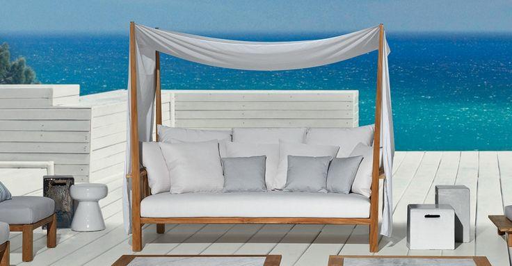 GERVASONI Inout 07 Canopy Sofa