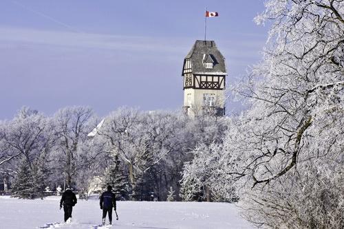 Assiniboine Park Pavillion in WINNIPEG MB Canada