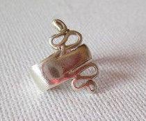 Ear cuffs no piercing, pendiente cartílago, Plata 925, Manguito de oreja, no perforado, pendiente de oído,  manguito de oreja, hecho a mano,
