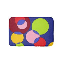 Coloured bubbles Bathmat