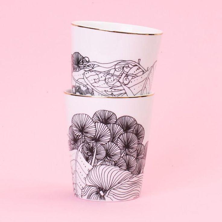 Gorgeous George & Co beakers  #ikoiko