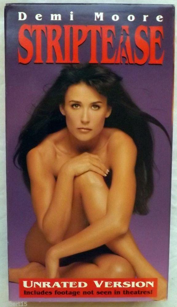 Striptease Demi Moore Burt Reynolds Armand Assante 1996 VHS