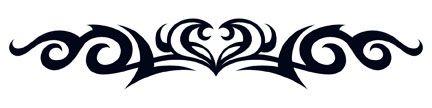 Elegant Tribal Heart Tattoo