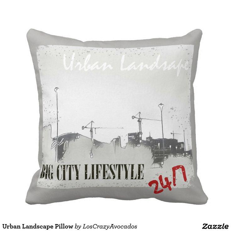 Urban Landscape Pillow