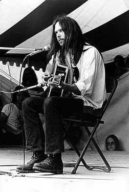 Neil Young, right on