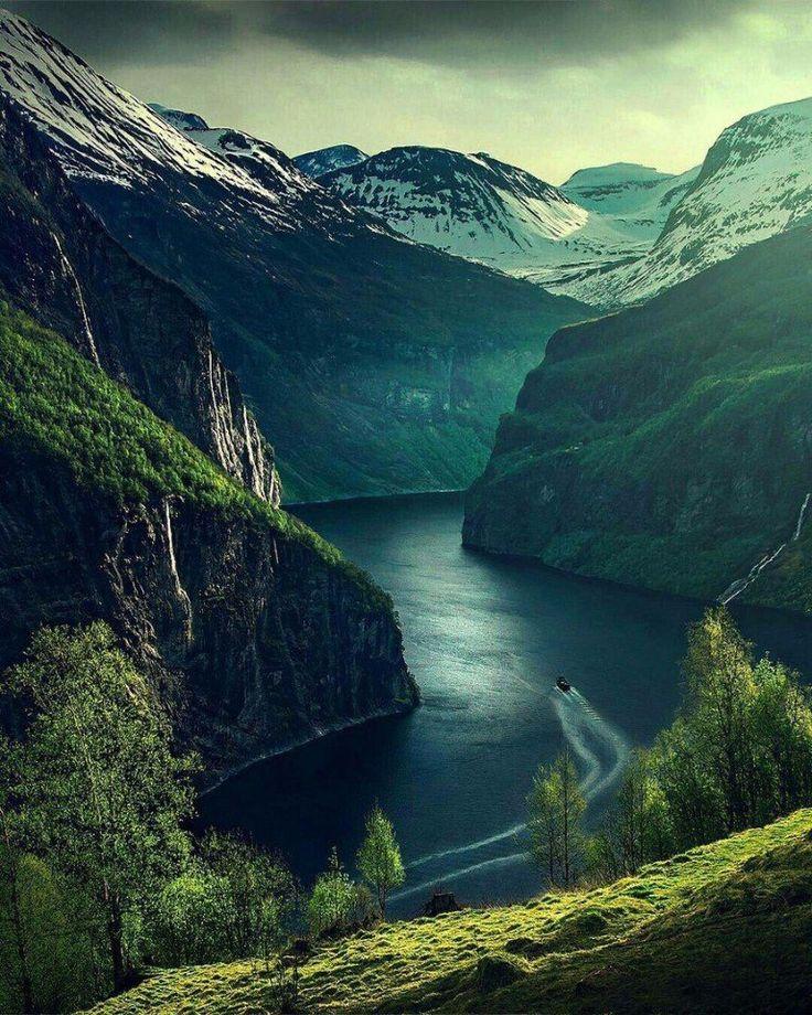 воскресенье радостью норвегия красивые места фото под