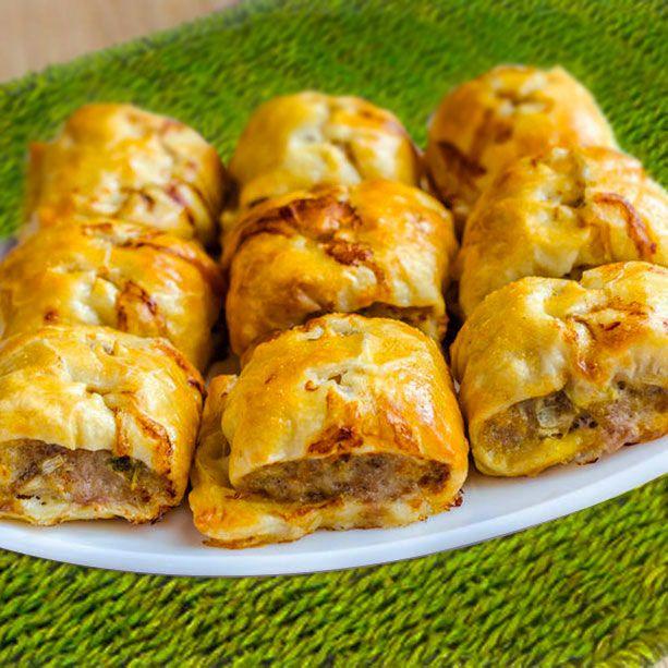 Mini empanadas de carne fáciles