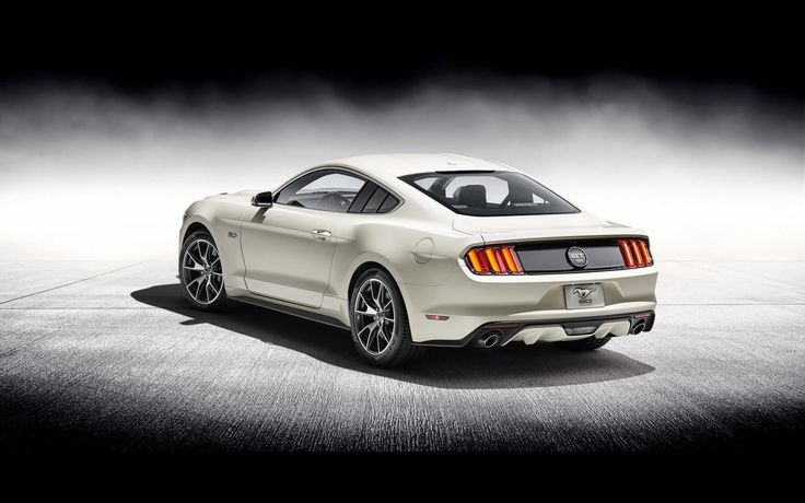 Cool 2015 Ford Mustang GT Fastback 50 Year Limited Edition