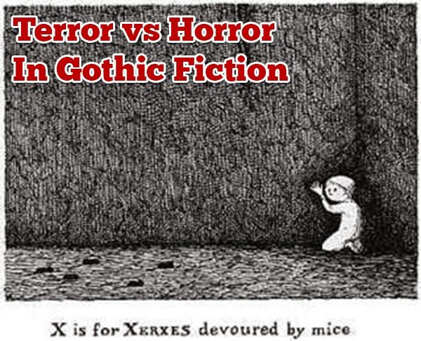 Terror vs Horror In Gothic Fiction | I've been reading and writing Gothic stories all my life, though I didn't always know that's what they were. As a girl I tore through Mary Stewart's Gothic Romances and most recently I've been ensnared by Douglas Preston and Lincoln Child's marvelous Pendergast series, an example of Southern Gothic. I'm not going to lie, Gothic fiction is a big topic and perhaps I should ....