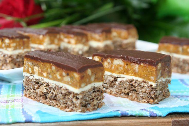 Prajitura Snickers | Miremirc | ... bucataria in imagini