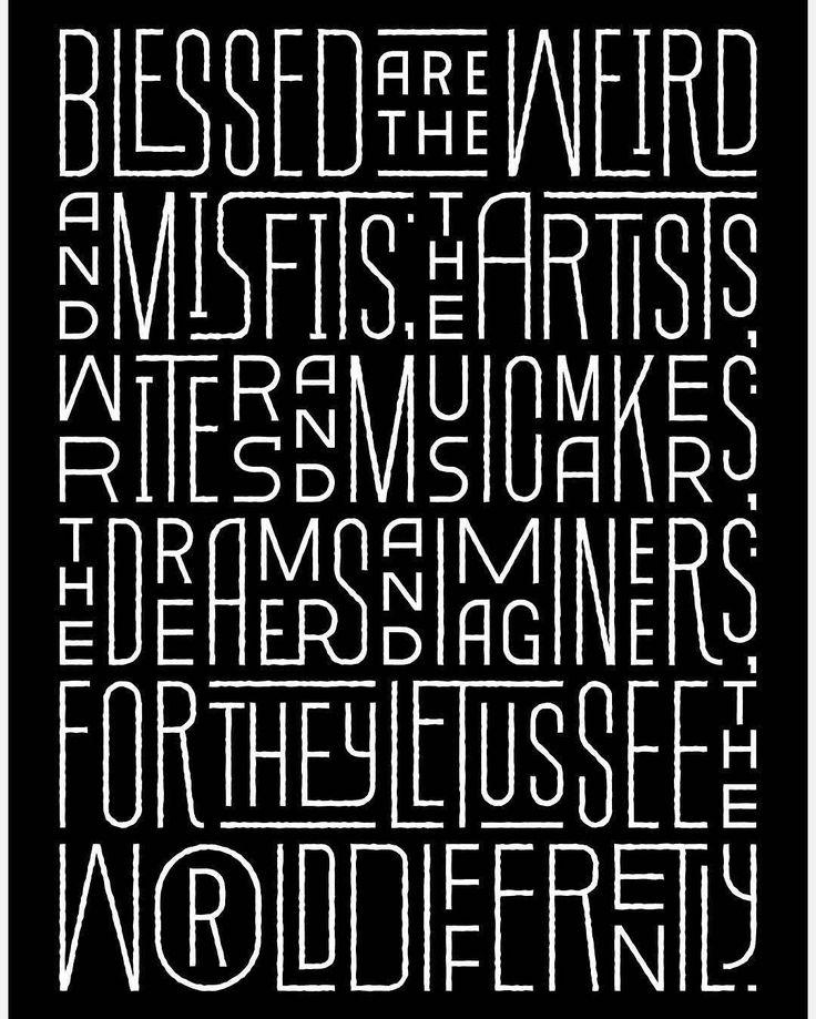 Best 25+ Typography art ideas on Pinterest | Creative ...