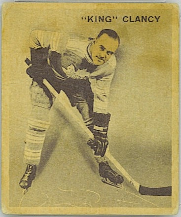 King Clancy Toronto Maple Leafs