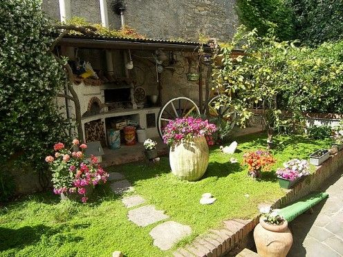 re use and recycle old things in your vintage garden small gardens budget and garden ideas - Garden Ideas Vintage