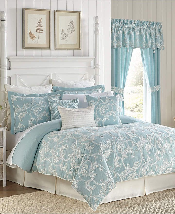 Croscill Willa 4 Pc Queen Comforter Set Bedding With Images