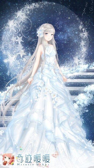 702 best anime images on pinterest anime girls anime for Anime wedding dress up games