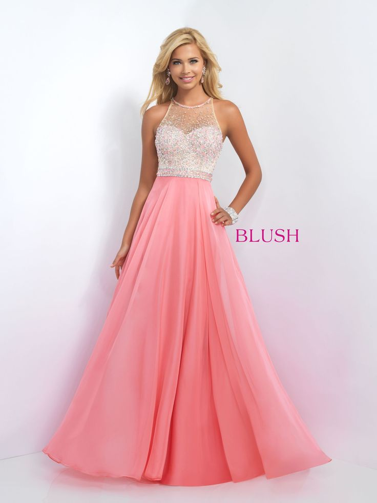 This gorgeous dress is a step above the classic chiffon dress! The dazzling jeweled top is F-A-B-U-L-O-U-S! Not to mention, the long chiffon skirt adds an ultra feminine touch! And it's at Rsvp Prom a