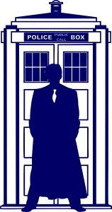 10th Doctor Who Silhouette Tardis | Die Cut Vinyl Sticker Decal | Sticky Addiction http://stickyaddiction.com/products/10th-dr-who-silhouette-tardis-die-cut-vinyl-sticker-decal-sticky-addiction #DoctorWho #DrWho