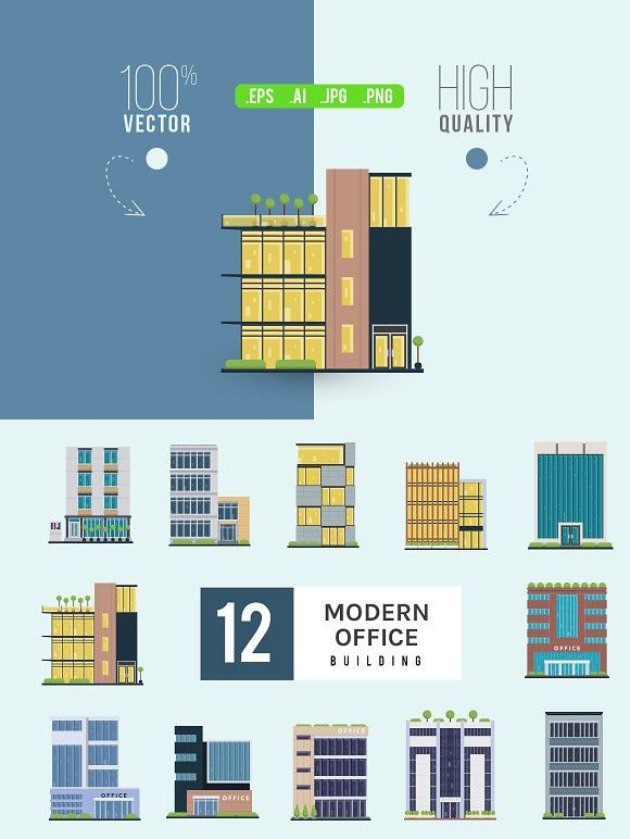 Modern Commercial Office Building Property Design Pinterest
