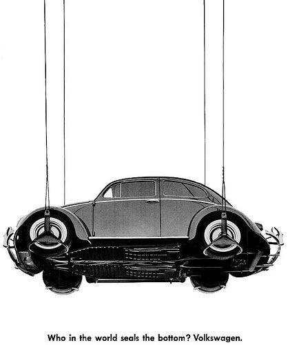 1960 | Volkswagen Beetle Advertisement