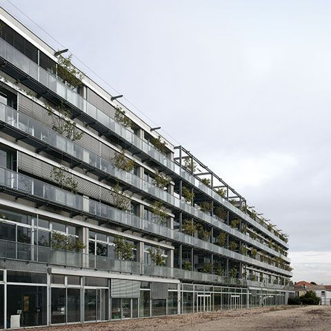 17 best images about architect france lacaton vassal on for B architecture nantes