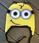 Bildresultat för crochet minion hat pattern free