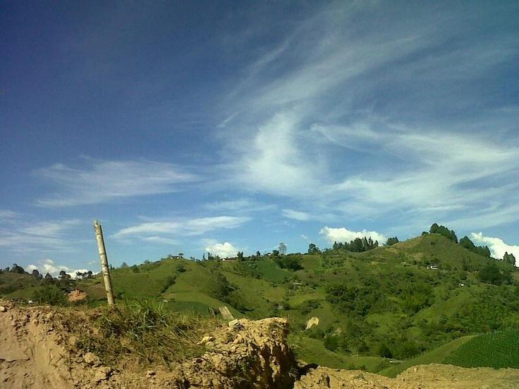 Tarde de domingo en el Peñol - Antioquia - Colombia