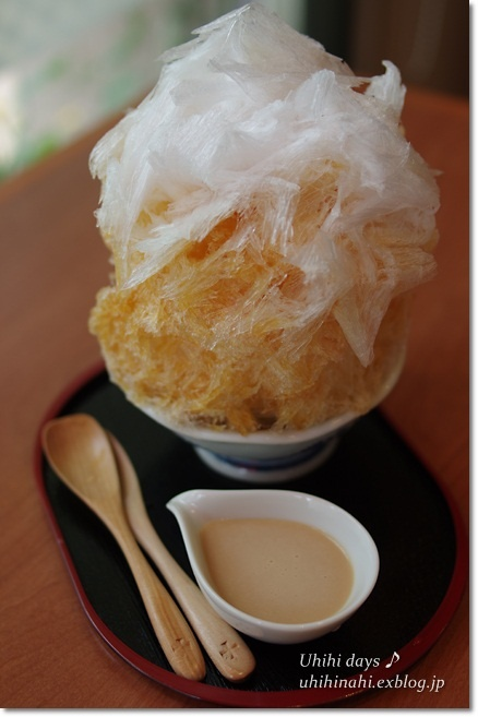 Japanese shaved ice: photo by uhihihihi