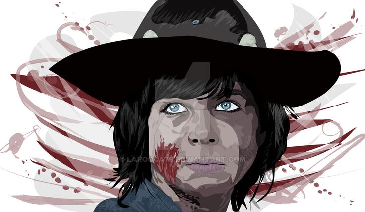 Art Vector Carl Vector drawing of Carl one of the protagonists of the famous series in the background apocallittico zombie walking dead.Per all fans can now find it on DeviantArt. http://larocca79.deviantart.com/art/Carl-576667162 Stay tuned Blog www.angelolarocca.it #Carl   #art   #vector   #canvas   #grafica   #digital   #artwork   #artprint   #photo   #thewalkingdead