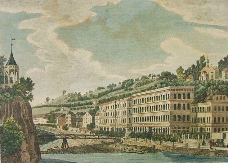 SEIFERT A.F.: Karlovy Vary – hotely Prinz Wilhelm, Zlatý lev a Paradies.