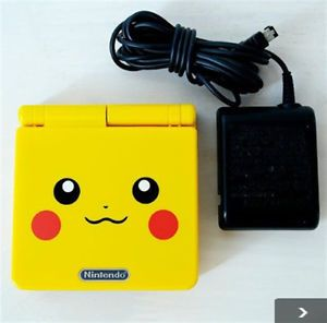 OFFER Pokemon Pikachu Limited Edition Nintendo Gameboy Advance SP Console Fsused | eBay