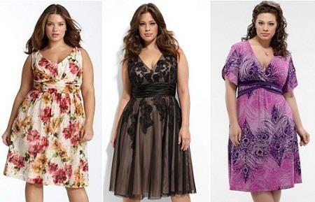 Платье летняя для толстых женщин