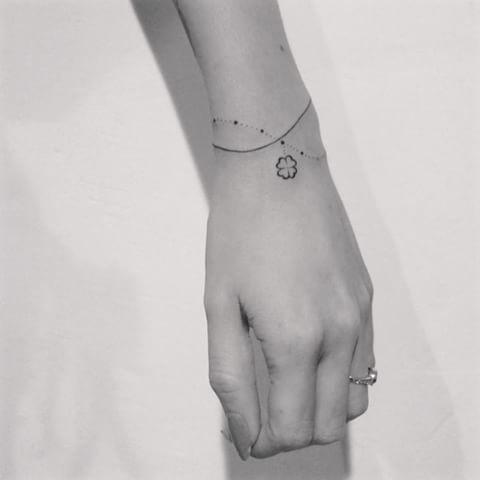 Image result for delicate bracelet tattoo