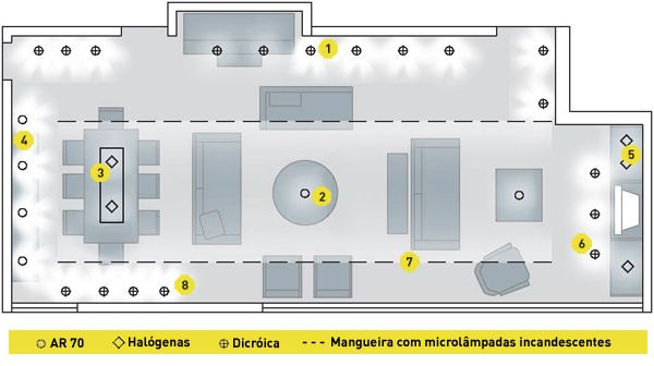 projeto de iluminação residencial - Pesquisa Google