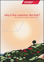 TetraMap - Why is the customer like that? workbook