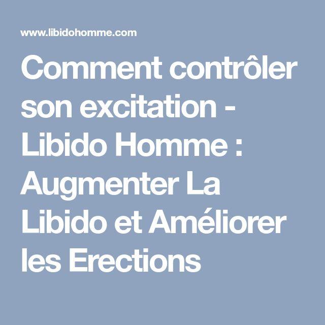 comment controler une erection