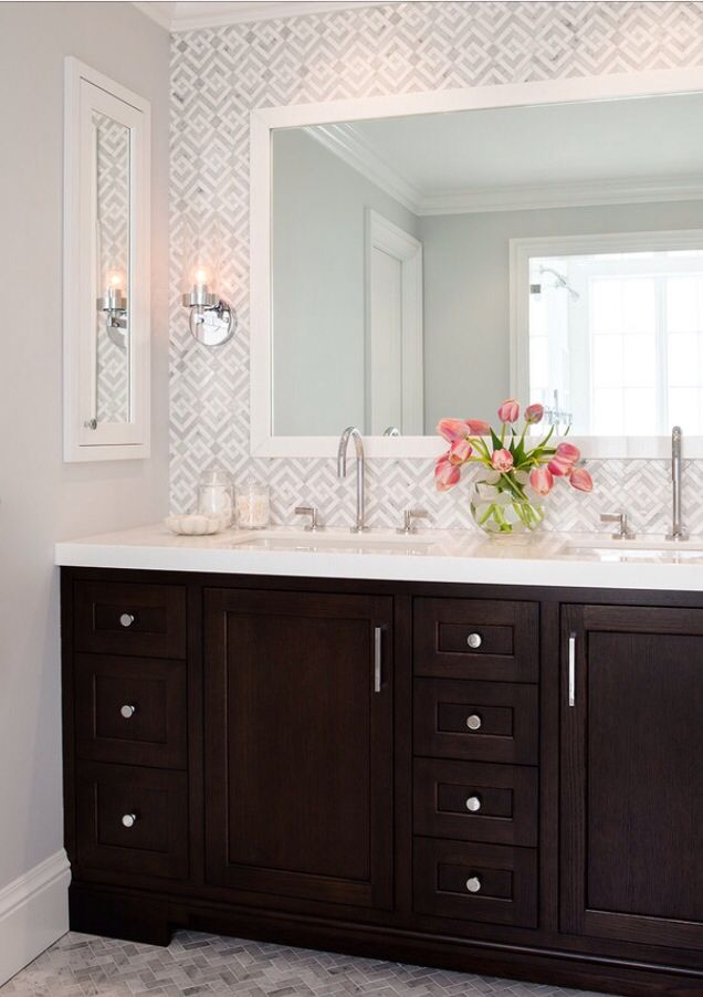 Complicated But Simple Ahhhh Http Houzz Bathroom Wall Colors Wallpaper