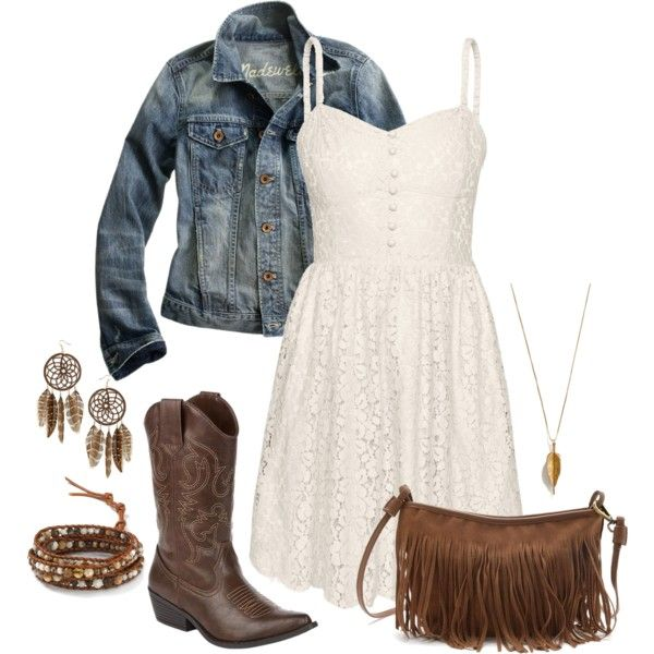 Anything that goes with cowboy boots just makes me happy