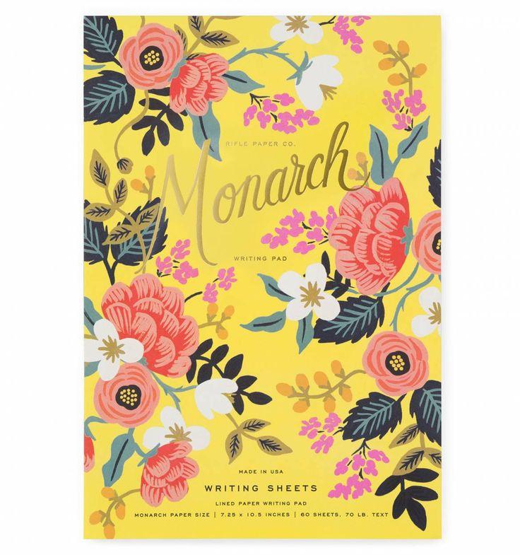 Birch Monarch Tear-Off Writing Sheets