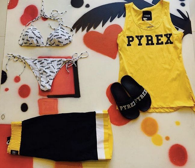 PYREX SUMMER #new #collection #springsummer16 #pyrex #pyrexoriginal #summer #slippers #top #bikini #beachwear #summerstyle #nothingbetter #pyrexstyle