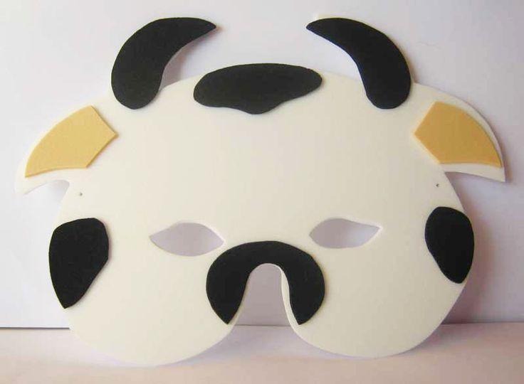 mascara carnaval animais eva (4)