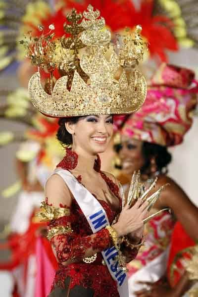 Miss Indonesia Rahma Landy at the 2007 Miss International beauty pageant in Tokyo on October 15, 2007 - Photogallery