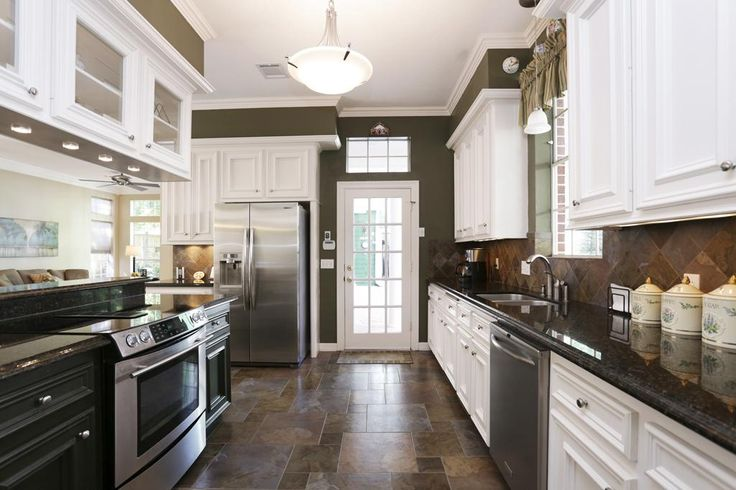 17 best ideas about open galley kitchen on pinterest for Updated galley kitchen photos