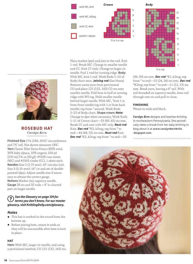 Mejores 556 imágenes de Gorros tejidos en Pinterest | Sombreros de ...