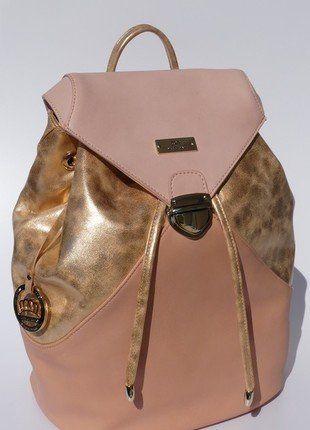 Kaufe meinen Artikel bei #Kleiderkreisel http://www.kleiderkreisel.de/damentaschen/rucksacke/138898309-rucksack-neu-rosa-gold-von-miss-germany-premium-collection