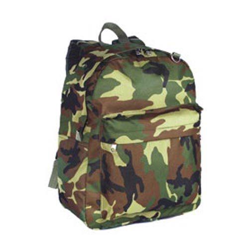 Classic woodland camo backpack