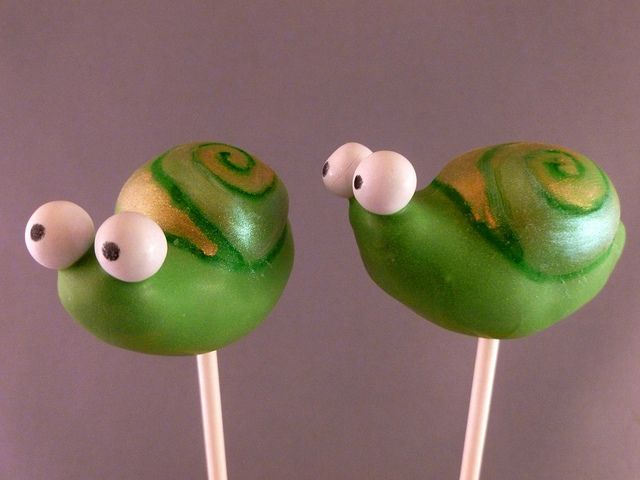 Snail Cake Pops | Flickr - Photo Sharing!